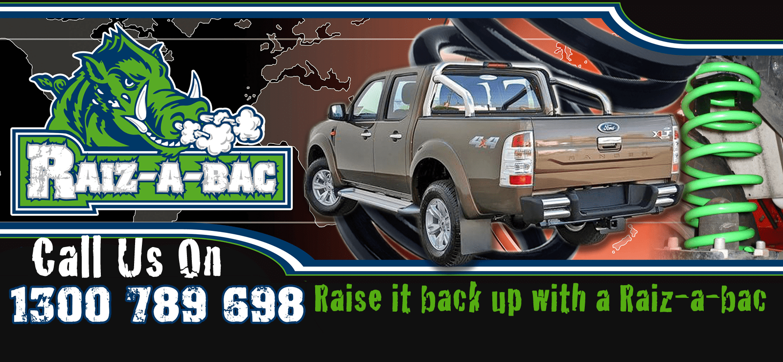 Thank You| Raiz-a-bac Suspension kits Canberra